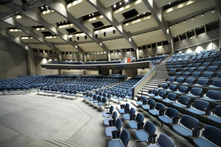convention hall: Indoor location for business conference