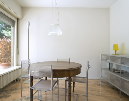 Interior of modern house, dining room