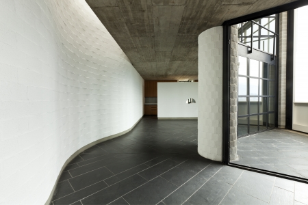 ceiling tile: interior modern villa, passage
