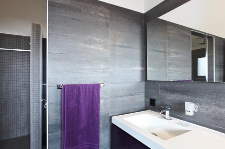 bathroom mirror: Beautiful Bathroom in Luxury Home
