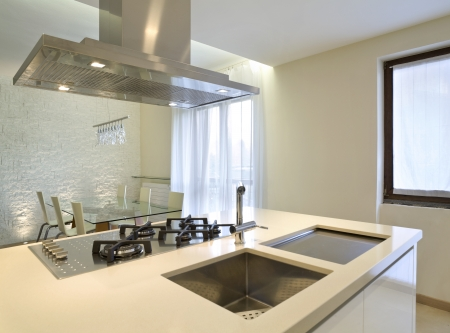 New interior design apartment, kitchen photo