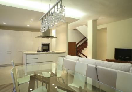 New interior design apartment, living room photo