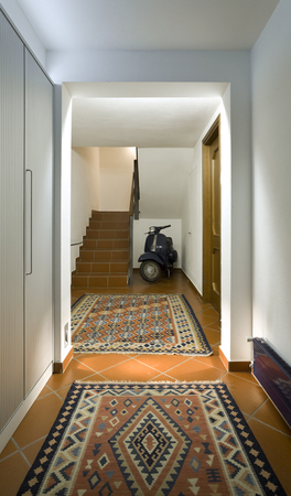 front entry: New interior design apartment, entry