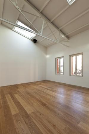 modern designer, apartment with mezzanine  Stock Photo - 24495485
