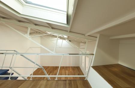 modern designer, apartment with mezzanine Stock Photo - 24495616