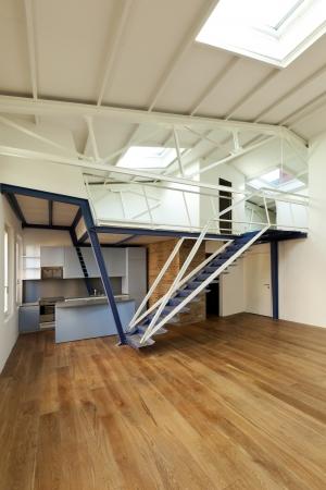 modern designer, apartment with mezzanine Stock Photo - 24495656