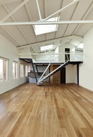 modern designer, apartment with mezzanine Stock Photo - 24495660