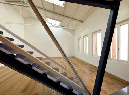 modern designer, apartment with mezzanine Stock Photo - 24495663