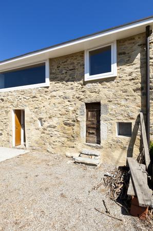 holiday home: casa de vacaciones en las monta�as, vista al aire libre