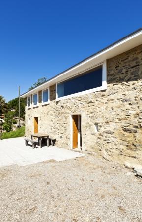 holiday home: casa de vacaciones en la monta�a, vista exterior, fachada de piedra