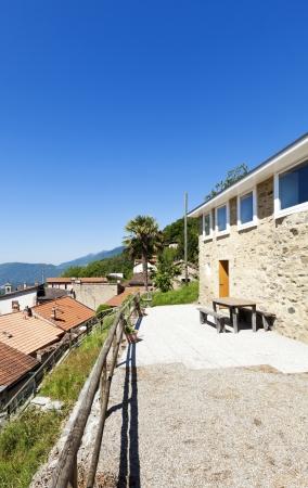 holiday home: Casa de vacaciones en la monta�a, vista exterior