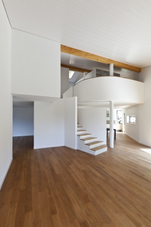interior modern house, large open space  photo