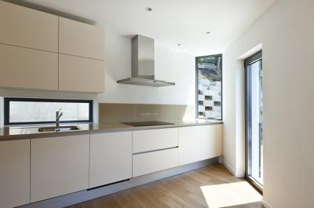 kitchen design: interior new house, modern kitchen