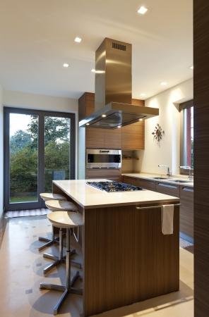 beautiful apartment, interior, kitchen Stock Photo - 24935666