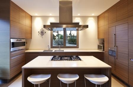 Bellissimo appartamento, interno, cucina Archivio Fotografico - 24935650