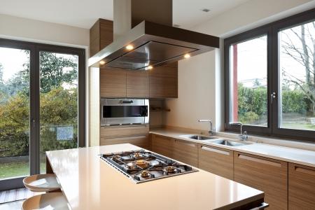 Bellissimo appartamento, interno, cucina Archivio Fotografico - 24934194