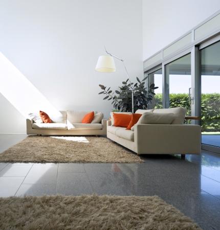 duplex: New interior design apartment, living room