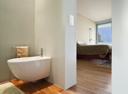 contemporary house, bathroom photo
