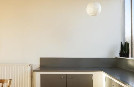 radiator: interior desván, detalle de cocina