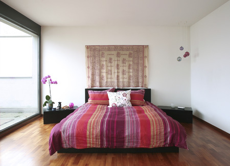 bedclothes: interior house, bedroom