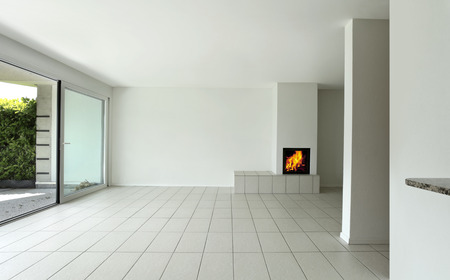 Modern living room interior photo