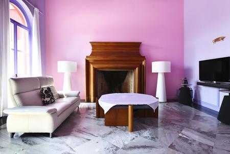 House interior, livingroom Stock Photo - 26091528