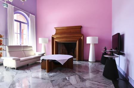 House interior, livingroom Stock Photo - 26091529
