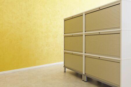 office cabinet: modern office interior design, cabinet