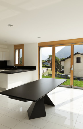 lucid: interior home, new kitchen, open space