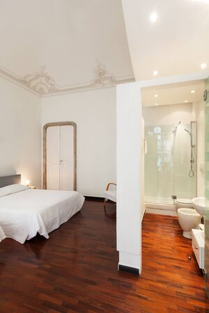 beautiful hotel in historic building, double room  photo