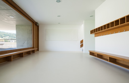 new architecture, interior, modern school photo