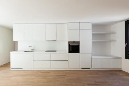 cuisine fond blanc: Int�rieur nouvelle maison, cuisine moderne et blanc
