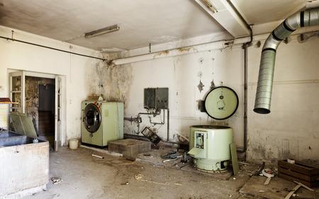 abandoned building,  old laundry Stock Photo - 27328993
