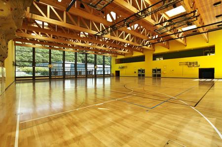 openbare school, het bouwen van indoor
