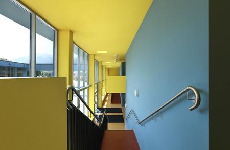 public school, building from indoor photo
