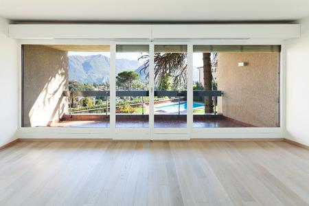 Interiors building, modern apartment, living room
