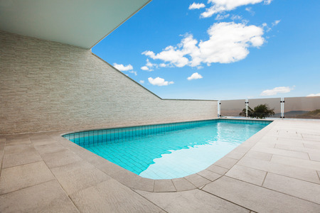 penthouse: beautiful new apartment building, outdoor, pool view