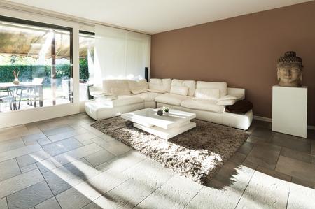 divan: Interior, hermoso apartamento, lujosa sala de estar