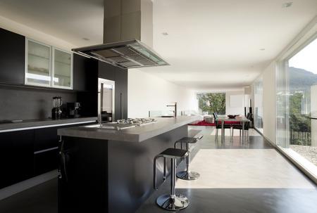 kitchen island: beautiful new apartment
