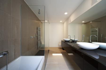 bathtubs: beautiful new apartment