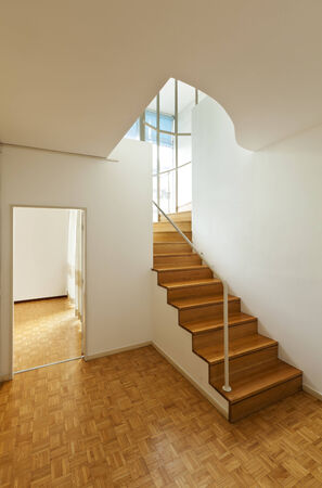 wooden floors: Bright duplex with hardwood floors,wooden stairs