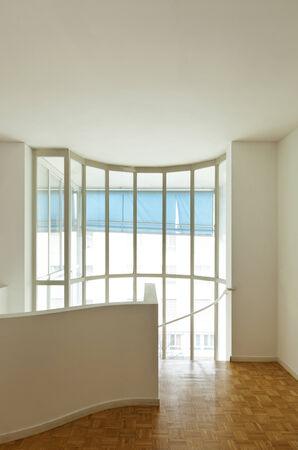 duplex: Bright duplex with hardwood floors, staircase