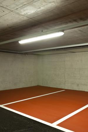 car park interior: new underground parking