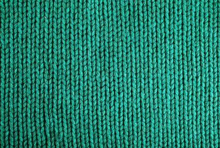 burlap background: woolen fabric green, detail, texture background  Stock Photo