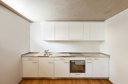 architecture modern design, home, view kitchen Stock Photo