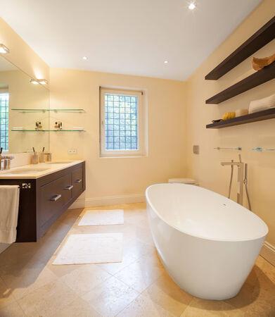 Architecture, modern bathroom photo