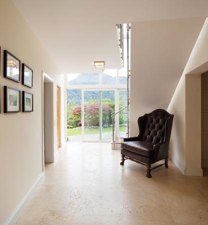 Interior modern house, corridor Stock Photo