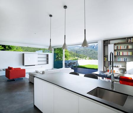 Interieur Design, moderne Wohnung, Küche