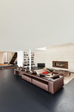 wide open spaces: Architecture, beautiful interior of a modern villa