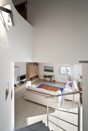 decore: interior modern apartment, living room